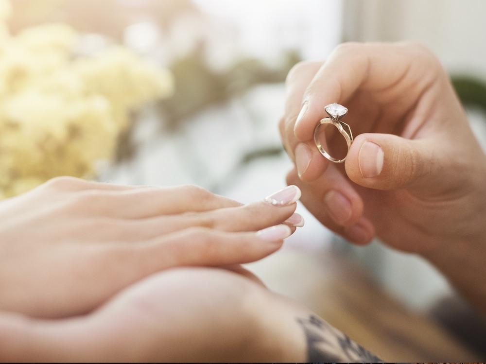 An Welcher Hand wird der Verlobungsring getragen?   Anne Korn