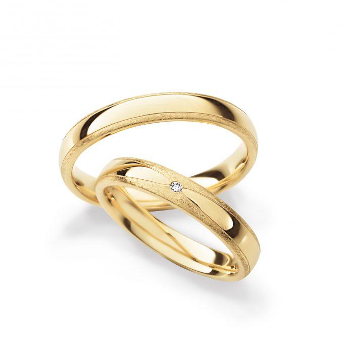 Rosegold Ringgpaar
