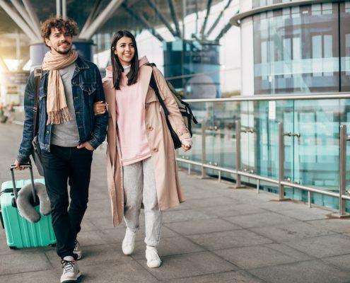 Verlobungsring Handgepäck oder Koffer